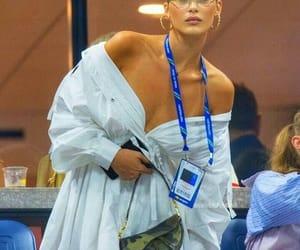 makeup, model, and bella hadid image