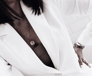 blazer, fashion, and jewelry image