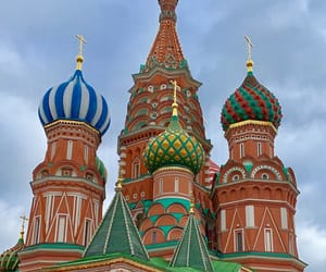 architecture, moscow, and church image