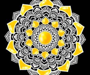 happiness, mandalaart, and mandala image