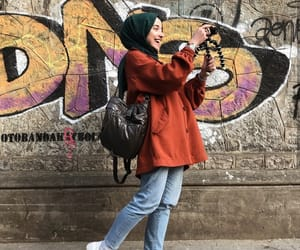 photography and hijab girly style image