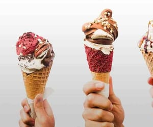 food, gelato, and ice cream image