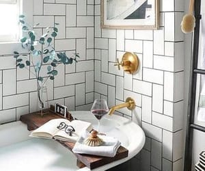 bath time, interior design, and relax image