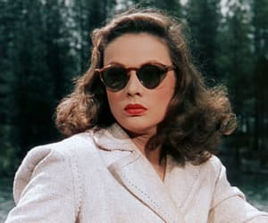 blue eyes, Gene Tierney, and gif image