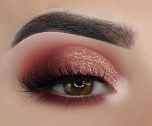 eyes, make up, and style image