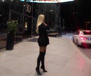 bar, black, and blondie image