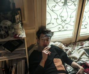 boy, smoke, and smoking image