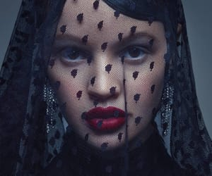 black veil, dark, and gothic image