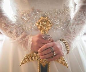 fantasy, princess, and sword image