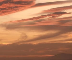 sky, nature, and sunset image
