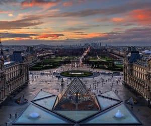 paris, france, and louvre image