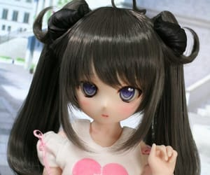 ball jointed doll, doll, and cute image