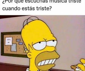 divertido, Homero, and memes image