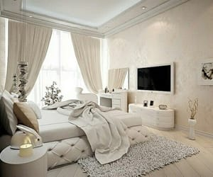bedroom, design, and interior design image