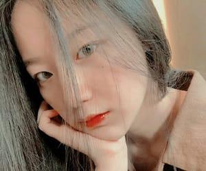 asian girl, model, and selca image