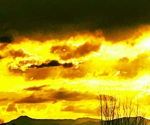photography, sky, and yellow image
