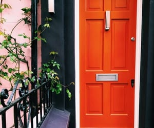 door, london, and Notting Hill image