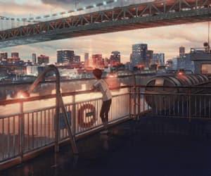 anime, makoto shinkai, and tenki no ko image