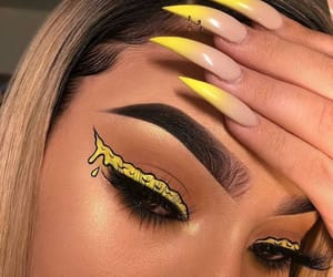 aesthetic, beauty, and yellow image