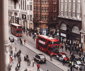 big city, british, and bus image