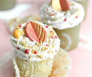 cup cake, delicious, and dessert image