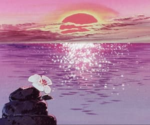 anime, flower, and movie image