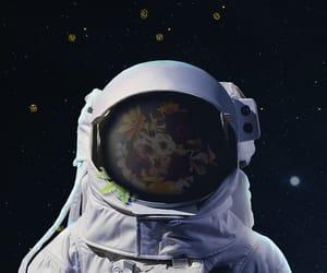 astronaut, cosmonaut, and cosmos image
