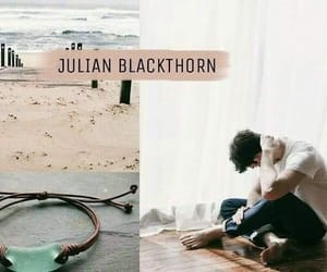 book, character, and julian blackthorn image