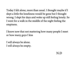 alone, depressing, and empty image
