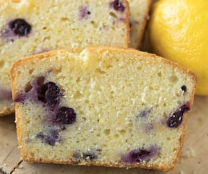 blueberry, bread, and food image