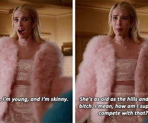 chanel oberlin, emma roberts, and scream queens image