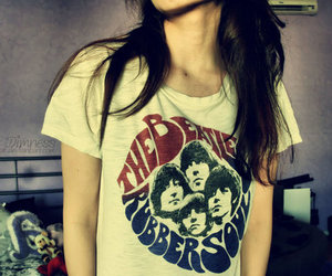 girl and the beatles image