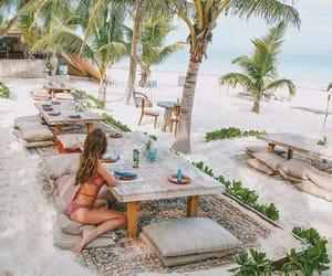 bikini, relax, and vacation image