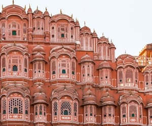 architecture, india, and travel image