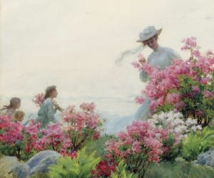 painting and spring image
