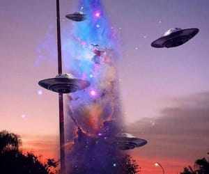alien, fantasy, and galactic image