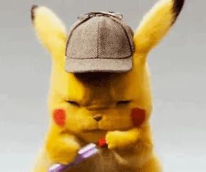 gif, pokemon, and detective pikachu image