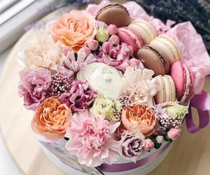 bouquet, boxes, and flowers image