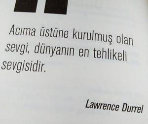 alıntı, türkçe sözler, and lawrence durrel image