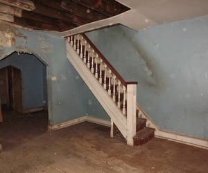 home, staircase, and rot image