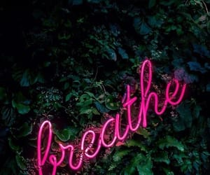 breathe, wallpaper, and pink image