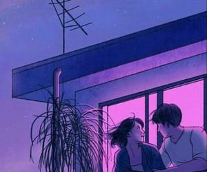aesthetic, purple, and alternative image