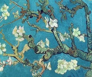 flowers and vincent van gogh image