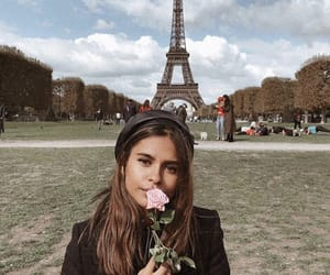 fashion, flower, and france image