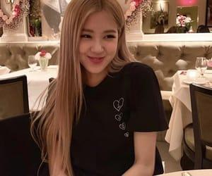 kpop, blackpink, and rose image
