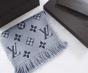 Louis Vuitton, LV, and scarve image