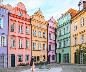 building, colorful, and travel image