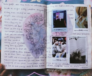 aesthetic, art, and art journal image