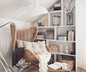 books, cozy, and comfy image