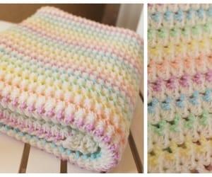 blanket and crochet image